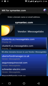 Symantec- Message Labs